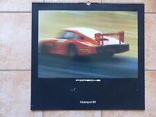 Porsche Motorsport Kalender 1984 Großformat 59 x 56 cm - 356 911 GT1 959 GT3 718