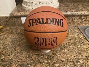 Spalding NBA Official Game Ball Leather Men's Basketball 29.5 90's Jordan READ