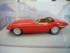 Dinky DY-18 Jaguar E Type - Red Open Roadster - Mint Condition