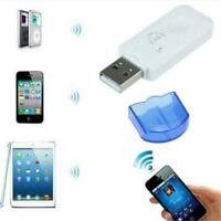 USB Music Stereo Bluetooth Wireless Audio Receiver Adapter for Home Car Speaker