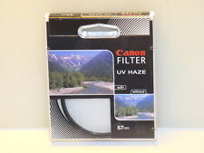 "Genuine Canon 67mm UV Haze Lens Filter NEW ""Great Stocking Stuffer"""