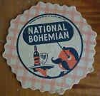 hard to Find 1948 national Bohemian Natty Boh baltimore Beer Coaster