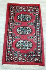 Feiner Handgeknüpfter Orientteppich Buchara Yomut Jomut Tapis Carpet 60x30cm