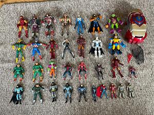 Marvel Legends / DC Action Figure job Lot Bundle 32 Figures Hulk Buster Fist