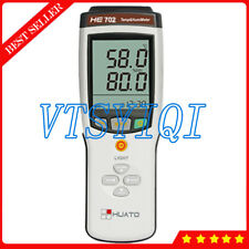 HE702 Digital Temperature Meter Handheld 2 Channel Thermocouple Thermometer