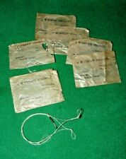 SCARCE WADHAM OF NEWPORT  ISLE OF WHITE PACKETS OF ' TWISTED NYLON PATERNOSTERS""