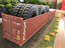 *SPECIAL PRICE* 1/50 Container TRITON 40' Open Top With Tyres