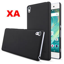 "For Sony Xperia XA 5"" /F3111 F3116 Black Hard Case Cover With Screen Protective"