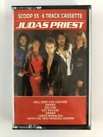 Judas Priest 6 Track Cassette Tape - UK Import Scoop 33 - Halford