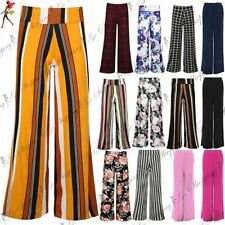Unbranded Viscose Wide Leg Trousers for Women