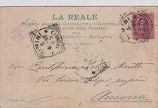 """# BOLOGNA: """"LA REALE"""" SOC. AN. COOPERATIVA D'ASSICURAZIONE - 1895"""
