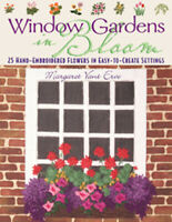 📙 Embroidery Book Window Gardens in Bloom Flowers
