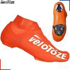 Couvre-chaussures orange pour vélo