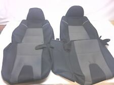 2004-2005 Mazda B2300, B3000 OEM black with gray insert seat covers 60/40
