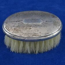 WEBSTER COMPANY Vintage STERLING SILVER VANITY HAND BRUSH No Monogram ART DECO