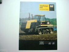 Caterpillar Challenger 65D Agricultural Tractor Brochure 12 Pages              #