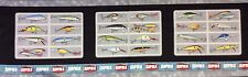 PNL46 RARE Go Fish RAPALA Fishing Lures Cotton Fabric Quilt Fabric Panel