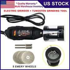 3mirrors Tig Welding Tungsten Electrode Sharpener Grinder Tool With Rotary Tool