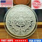 Mexican Aztec Calendar Mayan 1oz 999 Fine Silver Coin Coins Souvenirs with Shell