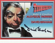 Thunderbirds TV Series David Graham / Parker A7 Auto Card