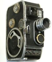 Paillard Bolex B8 8mm Cine Camera Lytar lens Swiss Made As IS Not film tested