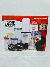 Magic Bullet High Speed Blender Mixer System 17 piece set Homeland Housewares