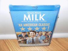 Milk (Blu-ray Disc, 2009) Sean Penn BRAND NEW SEALED!!!