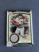 2018 Topps Museum Collection Relic Mookie Betts Patch Game Used #34/35 Dodgers