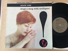 Annie-Ross  - Sings A Song With Mulligan! chet baker 1959 USA  vinyl  LP