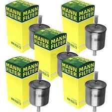 5x MANN-FILTER Kraftstofffilter Fuel Filter WK 832/2