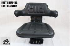 LONG 2052 2510 2610 BLACK UNIVERSAL TRACTOR SUSPENSION SEAT -5 POSTION TILT