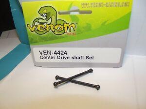 Venom Center Drive Shaft Set 2pcs 44mm long 4mm ball pin  Mini Giant ven 4424