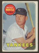 1969 Topps Set Break #500 Mickey Mantle VG