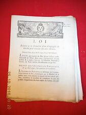 31 LOI & DECRET 1792 ÉTATS-MAJORS DE L'ARMÉE FORMATION COMPAGNIES DE GUIDES