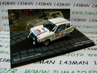 RIT20M 1/43 IXO Altaya Rallye : SIMCA TALBOT Samba Rallye SanRemo 1983 #28
