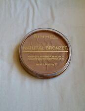 RIMMEL NATURAL BRONZER WATERPROOF BRONZING POWDER IN 022 SUN BRONZE