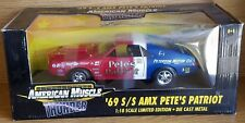 1/18 ERTL AMERICAN MUSCLE 1969 AMX S/S PETE'S PATRIOT RED, WHITE & BLUE rd