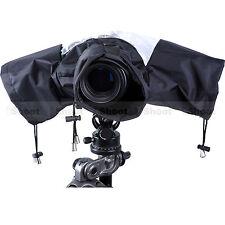 Imperméable Anti Poussière Housse De Pluie Protecteur Sac pour Caméra + objectif