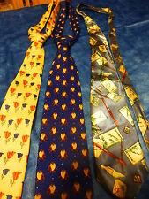 lot 3belles cravates de qualité pour l élégance !!!