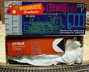 Roundhouse - HO - CP - Canadian Pacific - 40' Box Car