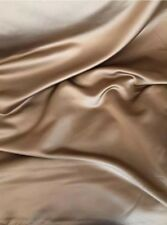 14 Metres Luxurious Prestigious Textiles Deep Gold Satin Curtain & Dress Fabric