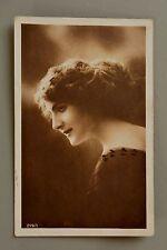 R&L Postcard: Edwardian Lady Woman Portrait