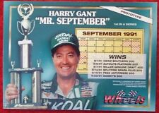 Vintage Prototype Harry Gant 1992 Wheels Hologram Mr. September NASCAR Card Rare