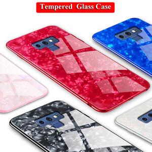3D BlingGlas Handyhülle Für SAMSUNG GALAXY Note 9 8/S9 S8 Plus Armor Tasche Case
