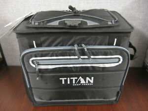 Titan Deep Freeze 40 Can Collapsible Cooler, Keeps Ice up to 2 Days ~NEW~