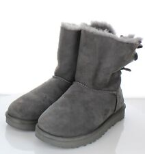 59-25 $200 Women's Sz 9 M UGG Bailey Twinface Shearling & Bow Corduroy Boot