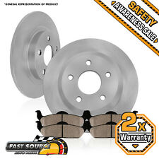 Rear Rotors and Ceramic Pads 2004 2005 2006 2007 2008 2009 2010 TOYOTA SIENNA