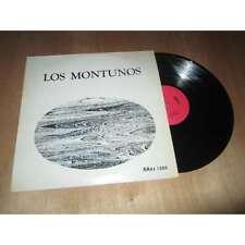 CONJUNTO LOS MONTUNOS - los montunos - LATIN CUBAN FOLK - RRAS Lp