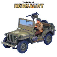 First Legion: NOR050 US Willys Jeep & Driver, 22nd Inf 4thDiv (WW2 USA Vehicles)
