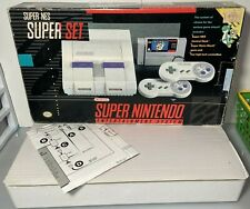 Super Nintendo SNES Super Set Console *Box Inserts & Styrofoam Only*